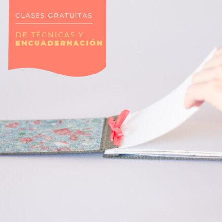 Ciclo de clases gratuitas de encuadernación